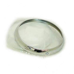 headlamp rim chrome on steel genuine rover