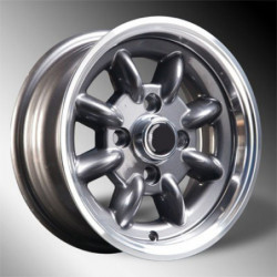 wheel superlight 5x12 gun metal