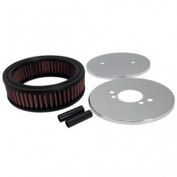 "k&n air filter 1.75"" centre hs6"