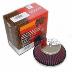 "k&n hs4/h4/hif38 1.5"" cone air filter"