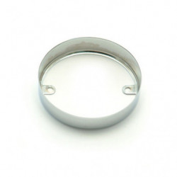chrome ring for late indicator lamp (86 on) single unit