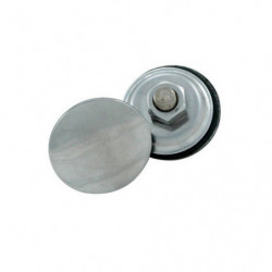 wiper hole plug in stainless steel - single