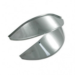 headlamp peaks in stainless steel (pair)