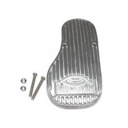 pedal, alloy bolt on accelerator pedal (pre 1976 only)